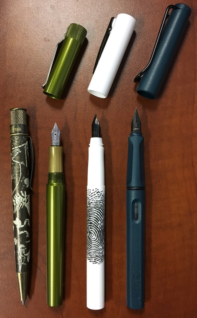 WRITink lineup (UNCAPPED)