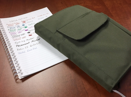 Lihit Lab Smart Fit Cover A5 Notebook