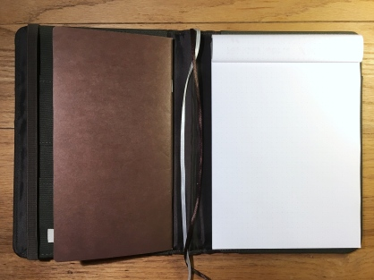 Lihit Lab Smart Fit Cover A5 Notebook Loaded Rhodia