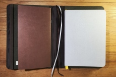 Lihit Lab Smart Fit Cover A5 Notebook Loaded Baron Fig