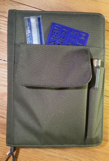 Lihit Lab Smart Fit Cover A5 Notebook Loaded Front