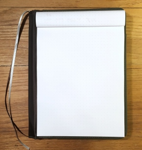 Lihit Lab Smart Fit Cover A5 Notebook Fold Over