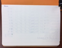 Rhodia Webnotebook Ink Test Page Back