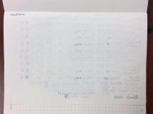 Leuchtturm1917 Ink Test Page Back