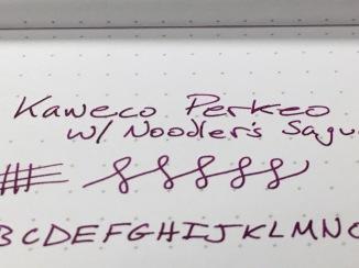 Kaweco Perkeo Writing Sample Closeup