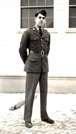 Grandpa Frank. Private, US Army