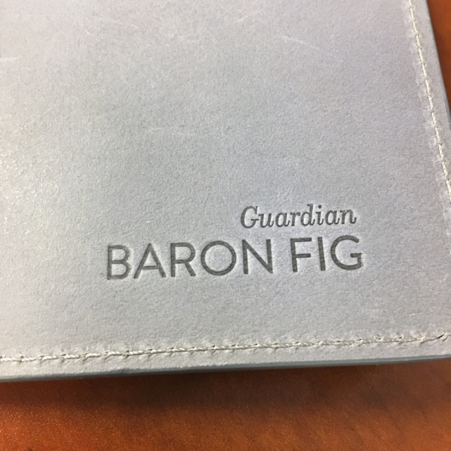 Baron Fig Guardian Vanguard Back Cover