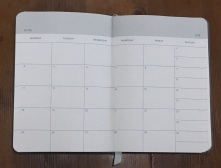 Baron Fig Planner Month View