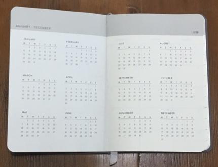 Baron Fig Planner Calendar
