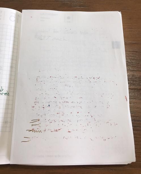 Hobonichi Techo extra sheet