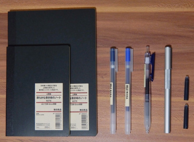 Muji Stationery Haul