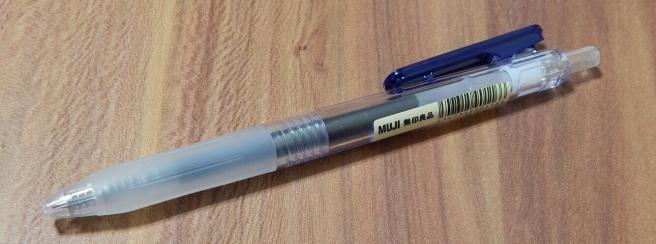 Muji Click Gel Pen