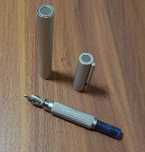 Muji Aluminum Fountain Pen Cartridge