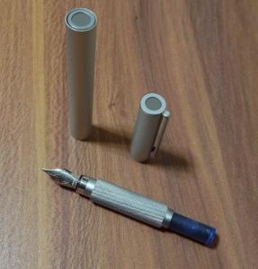 Muji Aluminum Fountain Pen Cartridge