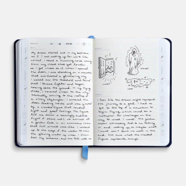 Baron Fig Wander Dream Journal Sample