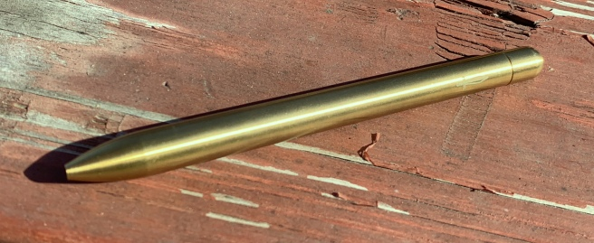 Baron Fig Squire Brass Cover