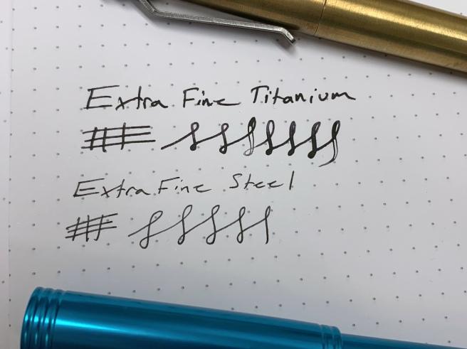 Karas Pen Co writing sample