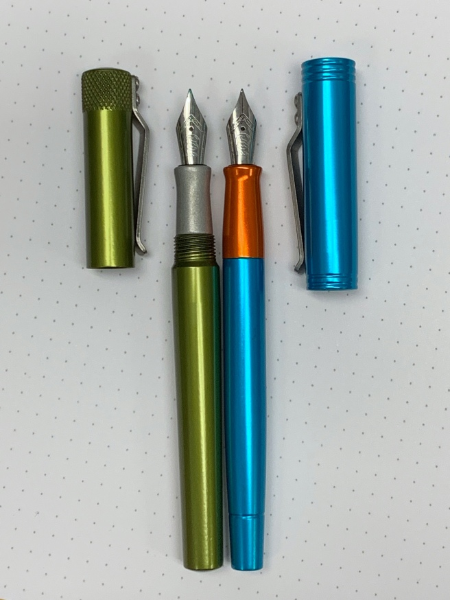 Karas Pen Co Side by Side