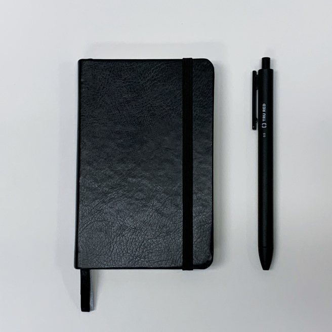 Staples TRU RED Pen & Book