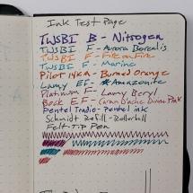 TRU RED Ink Test Page