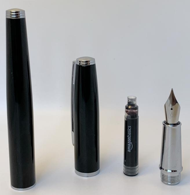 Amazon Basics Fountain Pen Deconstructed
