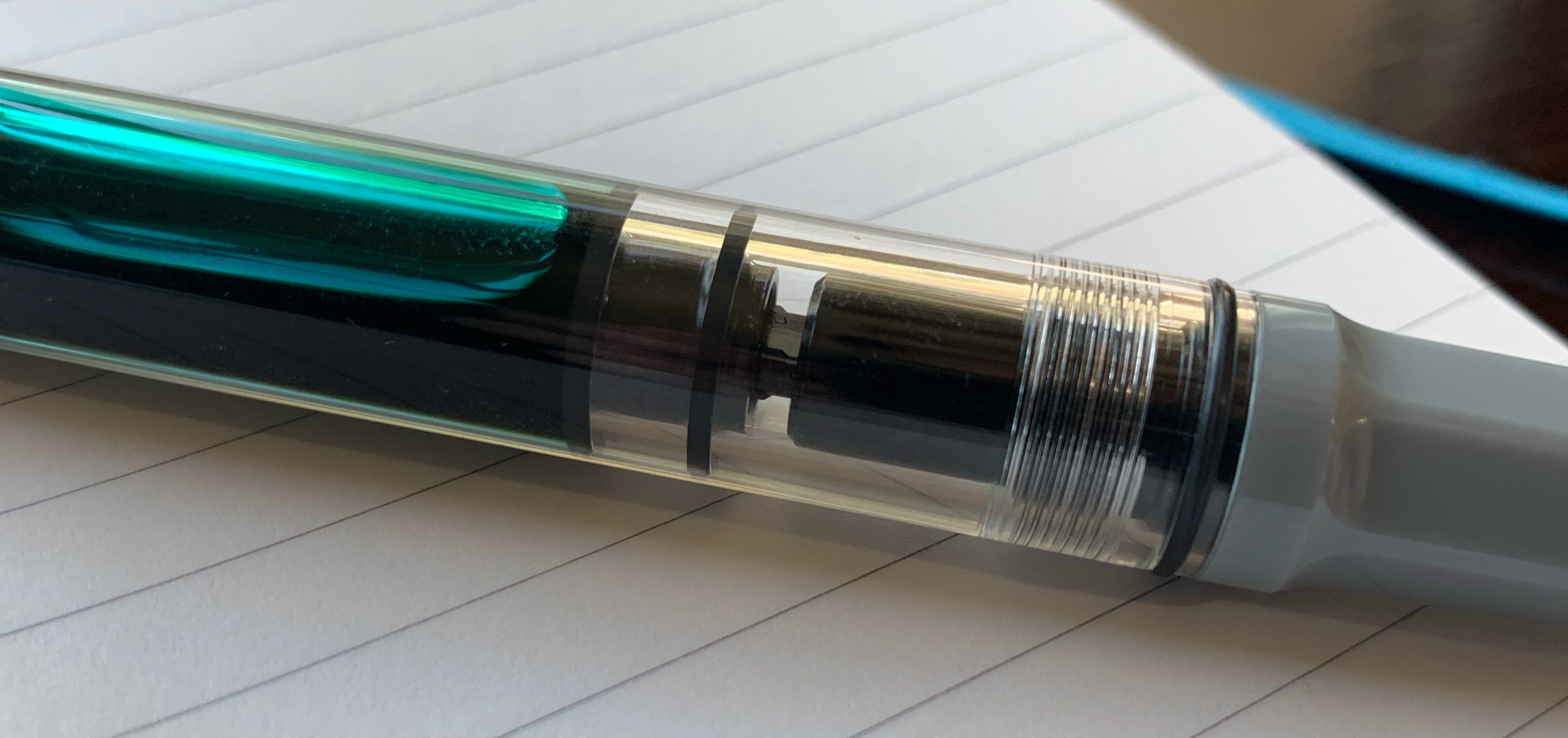 Twsbi Eco Cement Grey Piston