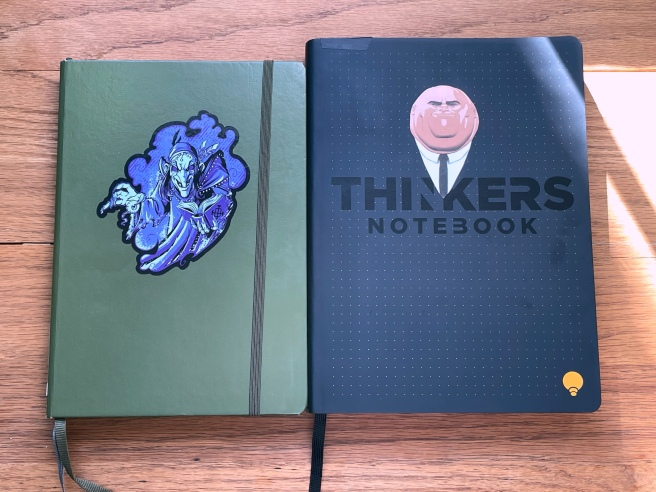 THINKERS Notebook comparison 2
