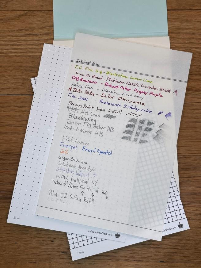 Vintage Writing Paper set
