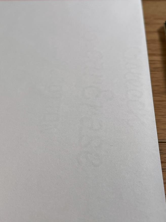 Vintage Writing Paper watermark